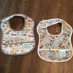 NWOT Bumkins Starter Baby Bibs